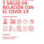 PREVENCIÓ I SALUT | Guia ràpida de seguretat i salut en relació amb el Covid-19