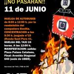 11 de junio: Movilizaciones y paros de 24 horas del Taxi en Europa