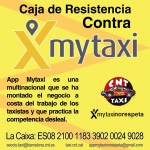 Campanya contra MyTaxi per fomentar la precarietat laboral al sector del Taxi