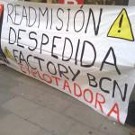 Repressió sindical a FACTORY Barcelona