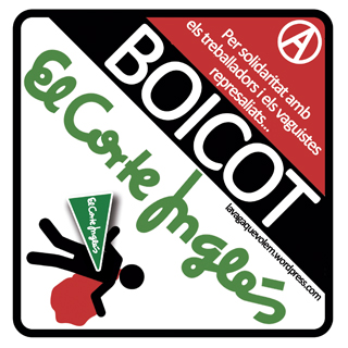 Boicot El Corte Inglés....
