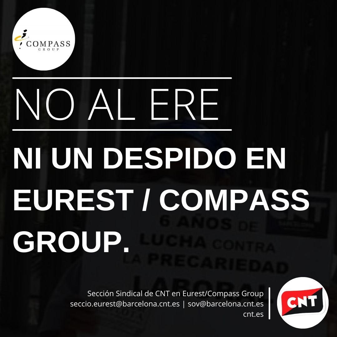 NO AL ERE | ¡NI UN DESPIDO EN EUREST COMPASS GROUP!