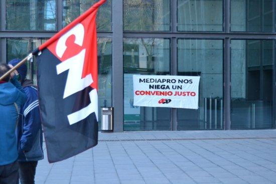 CNT convoca huelga en Mediapro los días 22 y 23 de mayo