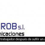 SANROB TELECOMUNICACIONES deixa tirat a un treballador després d'un accident laboral